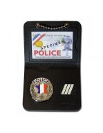 PORTE CARTE POLICE 2 VOLETS...