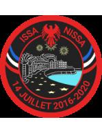 """ÉCUSSON """"ISSA NISSA"""" Commémoration des attentats du 14 Juillet 2016"""
