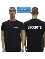 TEE SHIRT NOIR SECURITE...